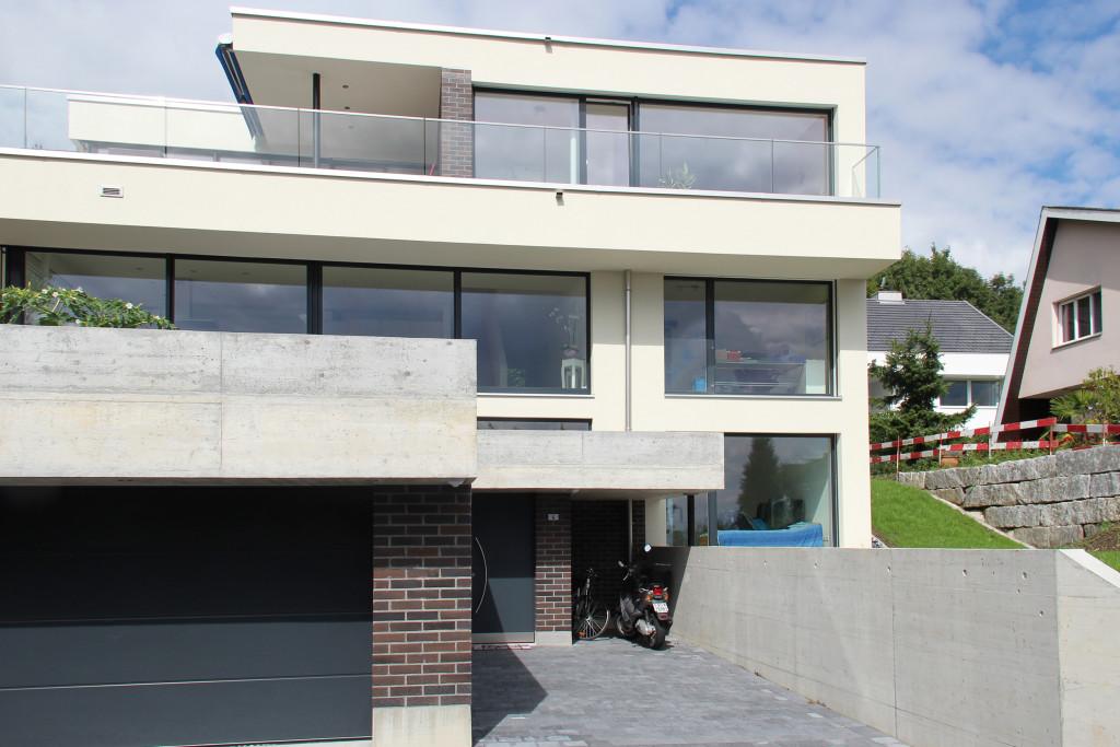 Villa Alpenblickstrasse Oftringen Südfassade