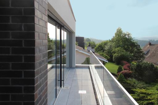 Villa Alpenblickstrasse Oftringen Terrasse