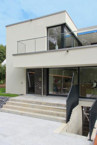 Villa Alpenblickstrasse Oftringen Westfassade