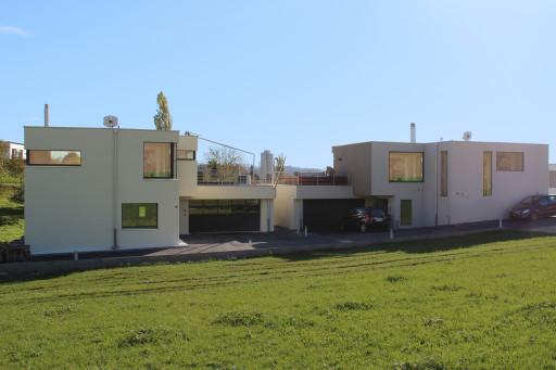 Terrassenhäuser Oftringen Nordfassade
