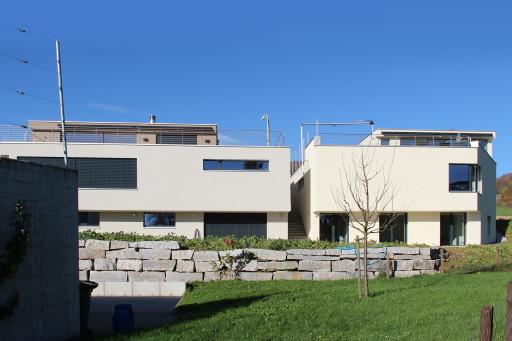 Terrassenhäuser Oftringen Südfassade