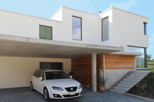 Einfamilienhaus Wolfwilerstrasse Neuendorf Nordfassade