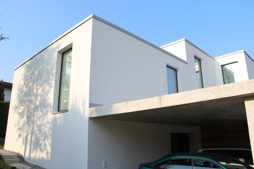 Einfamilienhaus Wolfwilerstrasse Neuendorf Ostfassade