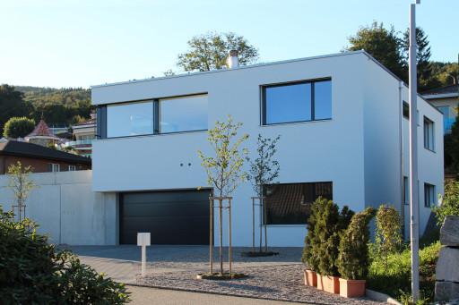 Einfamilienhaus Fridhag Hägendorf Südfassade