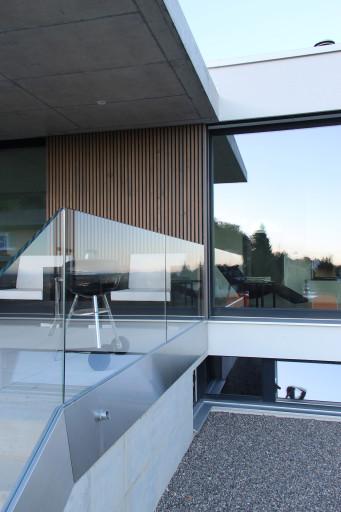 Einfamilienhaus Fridhag Hägendorf Westfassade