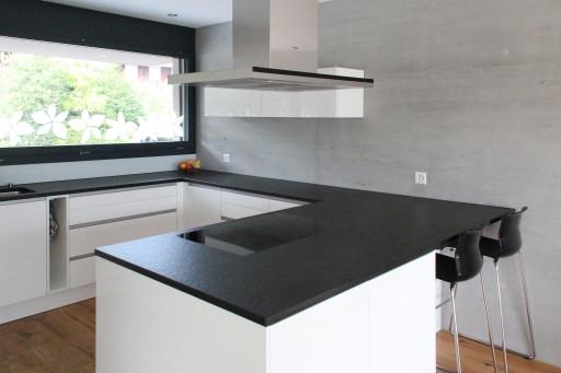 Neubau Unterentfelden Küche