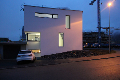 Neubau Aarburg Ostfassade