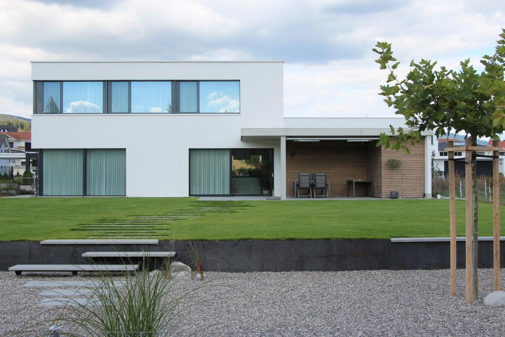 Einfamilienhaus moosackerstrasse winznau archiwork ag for Gartengestaltung neubau