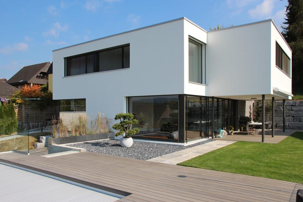 Einfamilienhaus k hrainweg vordemwald archiwork ag for Gartengestaltung neubau